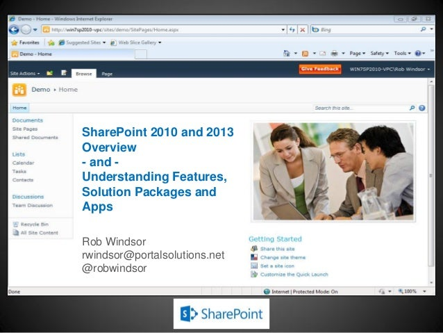 Tutorial, Part 1: SharePoint 101: Jump-Starting the Developer by Rob Windsor - SPTec…