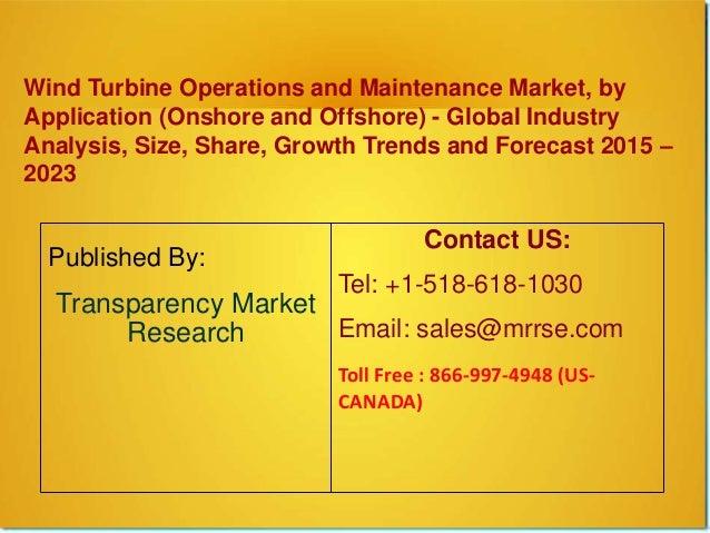 wind turbine operations and maintenance market size share