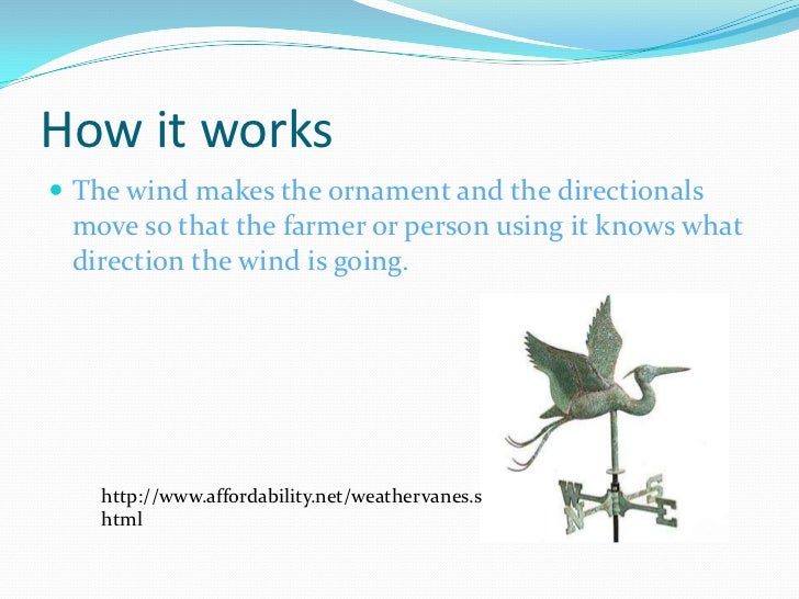 how does a wind vane work Just how do wind vane does this rule out a windvane self-steering has a general interest in vane gears and wants to get a good insight as to how they work.