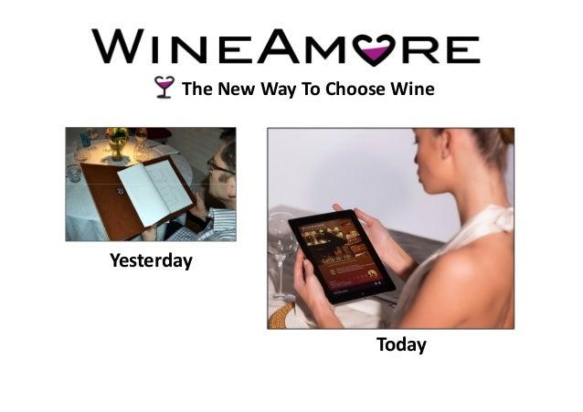 Wine amore presentation_restaurants_eng