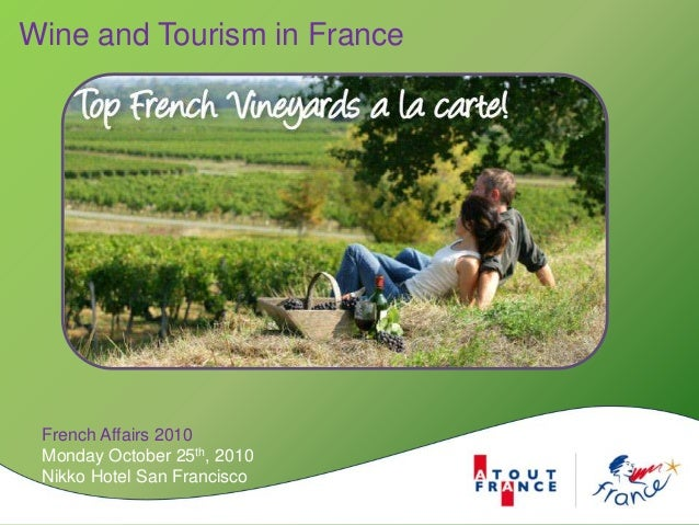 Wine and Tourism in France