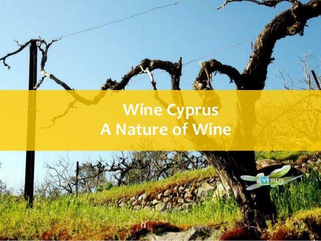 Wine CyprusA Nature of Wine