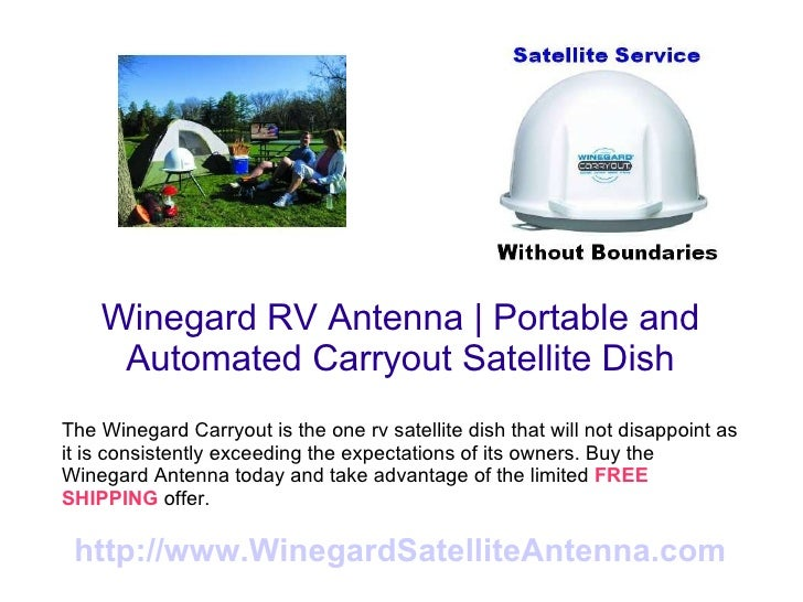 Winegard Carryout RV Antenna Setting New Records