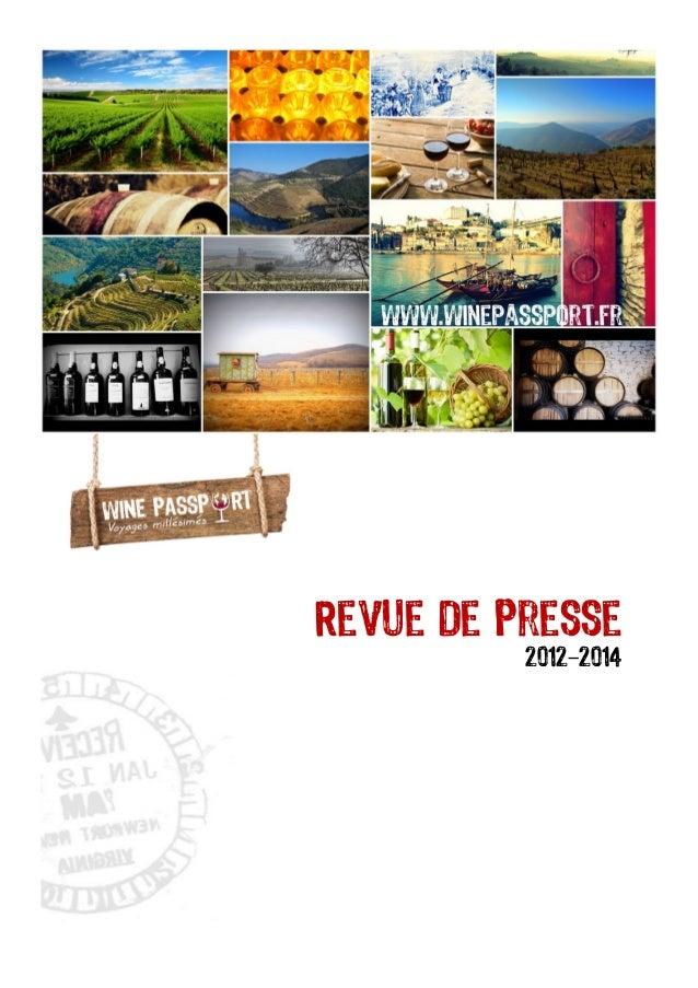 Revue de Presse 2012-2014