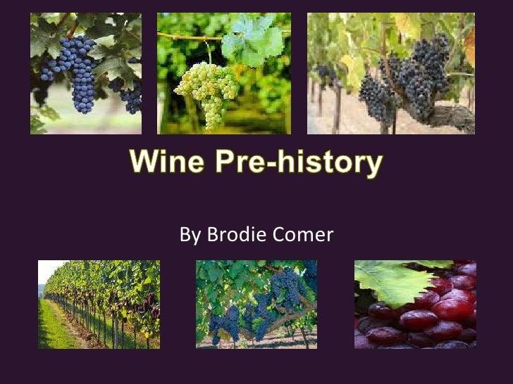 Wine Pre History