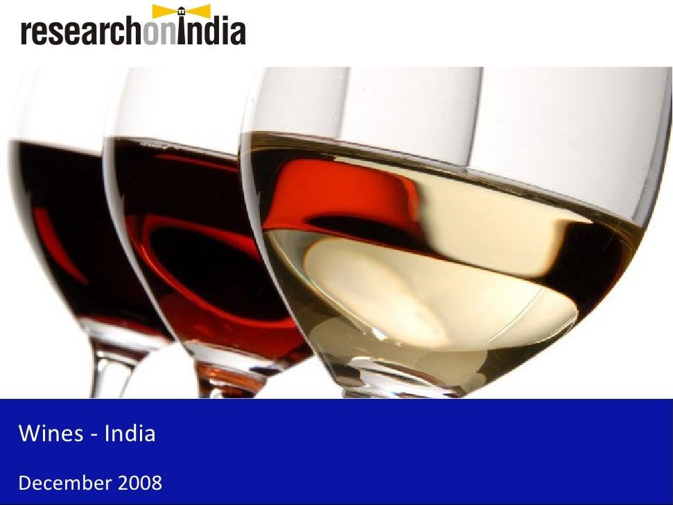 Wines - India - Sample