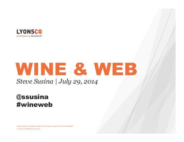 Wine and Web: Marketing Automation