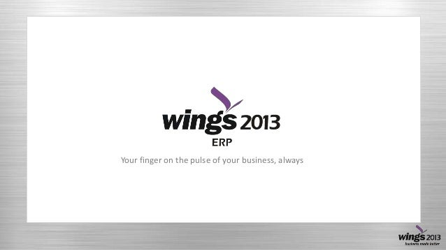 Your finger on the pulse of your business, always