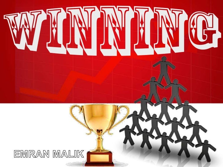 """•    What does it take to win?•    Winning is achievable. You must,    however, learn what makes winning    happen.•     """"..."""