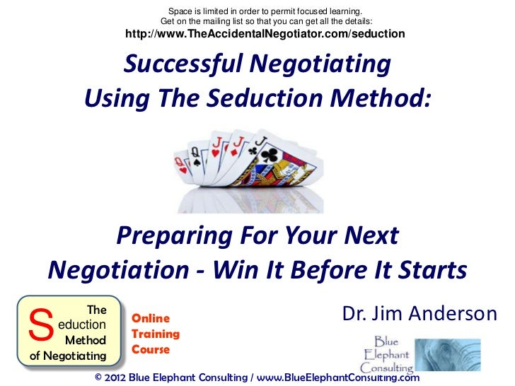 Successful Negotiating: Preparing For Your Next Negotiation - Win It Before It Starts