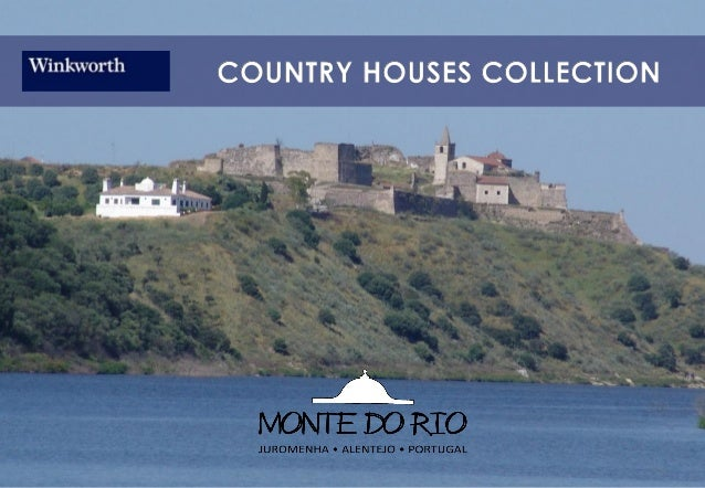 """Welcome to the Alentejo with a """"sea"""" viewMonte do Rio is a private property situated in Juromenha, a typical village in th..."""