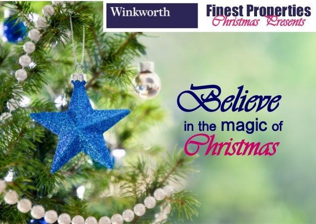 Winkworth Christmas Presents