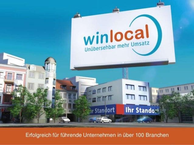 Unübersehbar mehr Umsatz: Lokales Online-Vertriebs-Marketing mit WinLocal