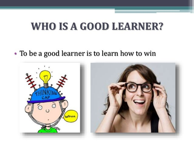 the good learner Year six children explain what makes them a good learner and some identify what they need to do next.