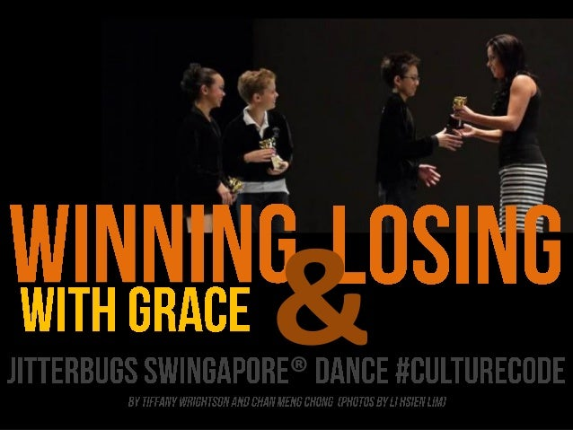 Winning and Losing with Grace: Jitterbugs Culture Code