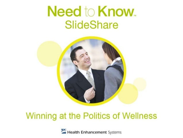 Corporate wellness politics are not unlike those of running for office. Using a political campaign as a model, you can bor...