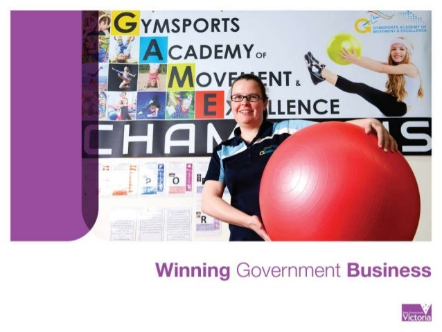 Winning government business workshop