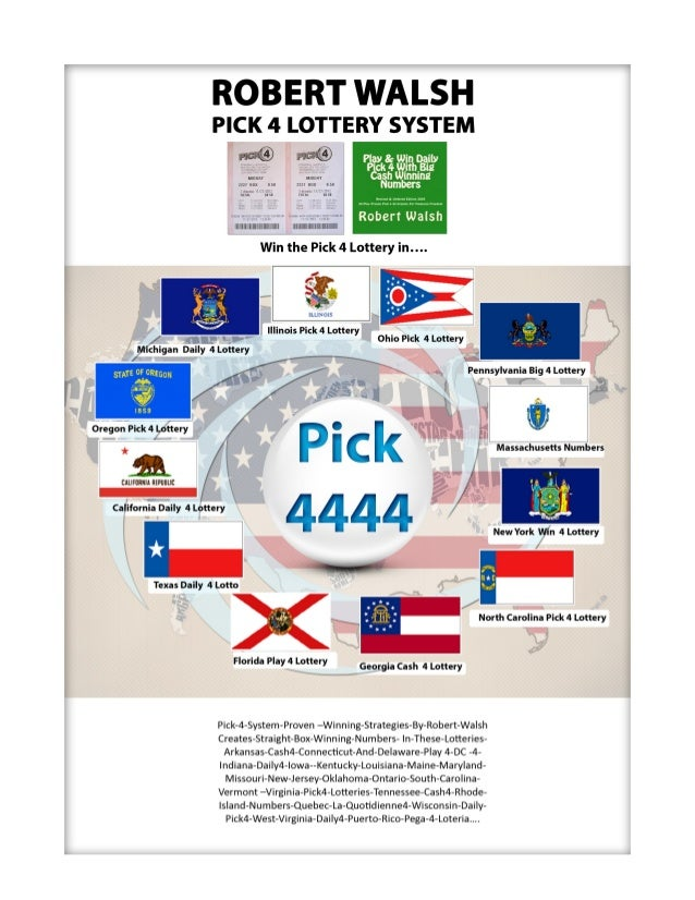 Pick your winning lottery numbers