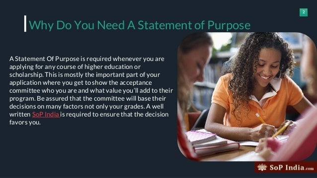 How to write an admission statement