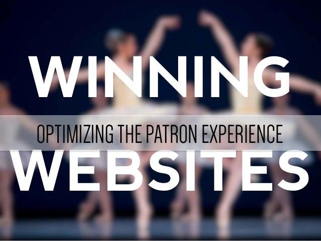 Winning Websites NAMP 2013