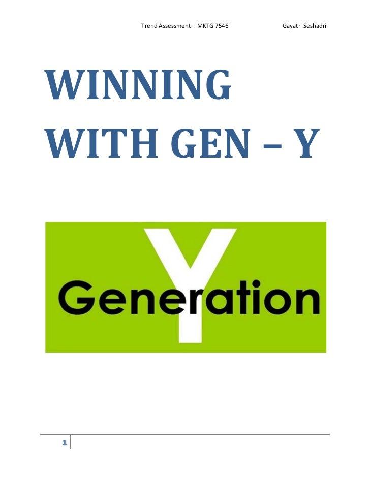 Winning with Gen Y