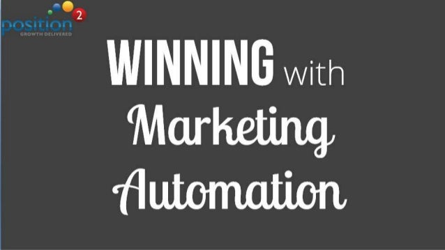 Winning With Marketing Automation