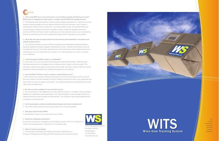 Winn Solutions Digital Brochure 2010