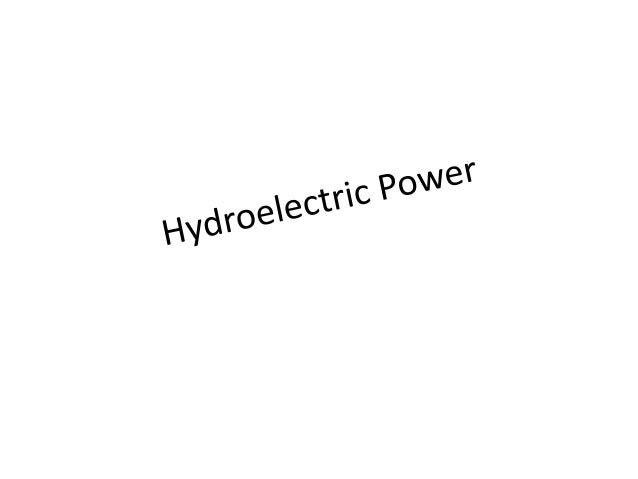 What is Hydroelectric Power?  Hydroelectricity is a term referring to the electricity generated by hydro power  A hydrop...