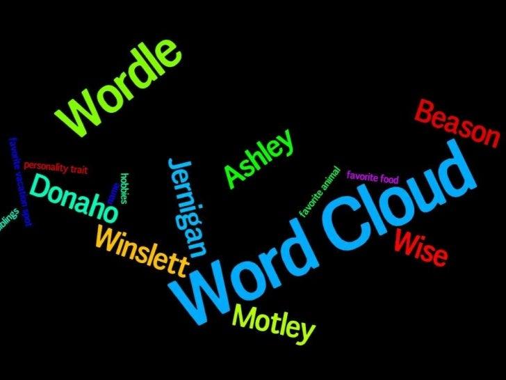 Winslett wordles
