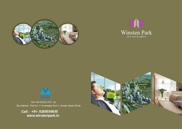 VHR SKV INFOTECH PVT. LD. Site Address : Plot No. 17 Knowledge Park V, Greater Noida (West)  Call : +91- 9289556655 www.wi...