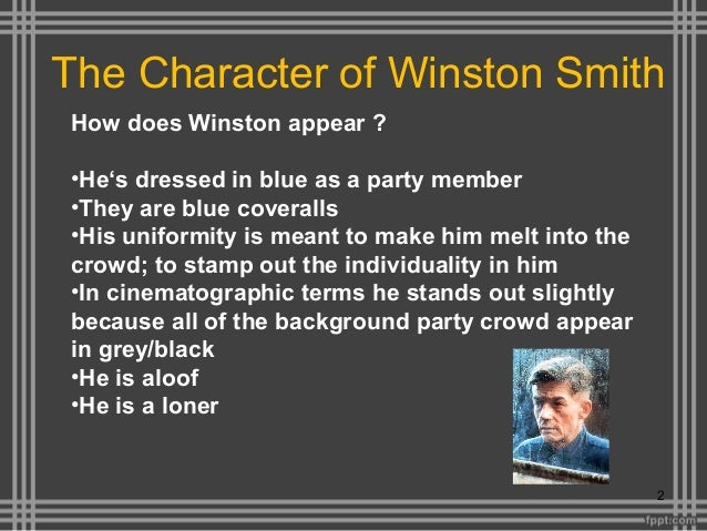 an analysis of the character of winston smith in 1984 An analysis of the character winston smith in george orwell's 'nineteen eighty- four' updated on october  source 1984 (signet classics.