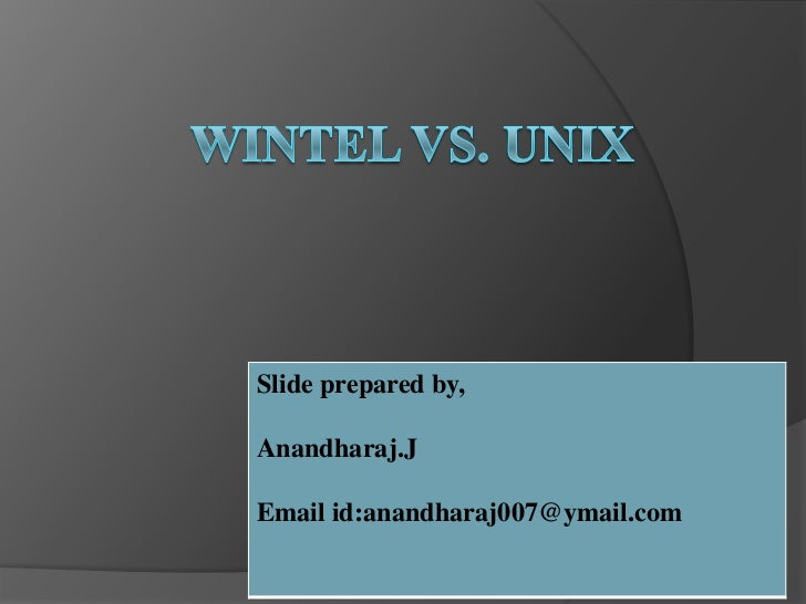 unix vs windows networking Get expert answers to your questions in windows server, unix, network and network security and more on researchgate, the professional network for scientists.