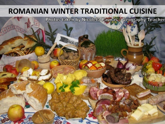 ROMANIAN WINTER TRADITIONAL CUISINE