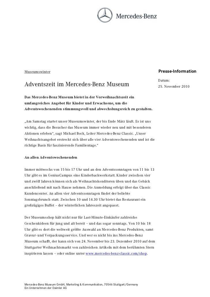 Museumswinter                                                                    Presse-Information                       ...