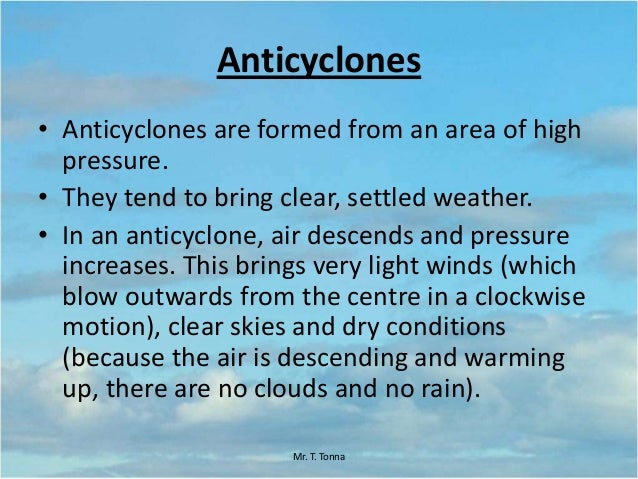 Lesson 2: Winter and Summer Anticyclones