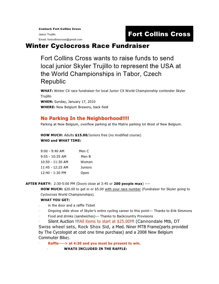Winter Cx Press Release