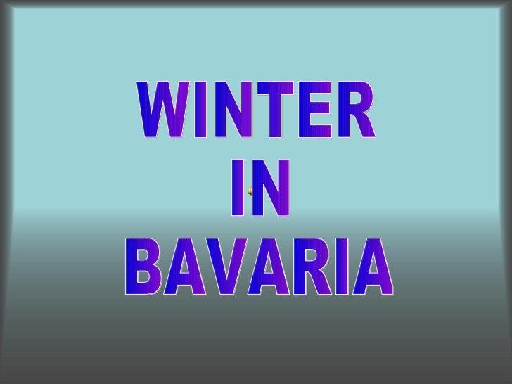 Winterin bavaria