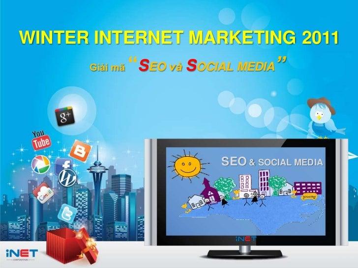 Winter internet marketing 2011