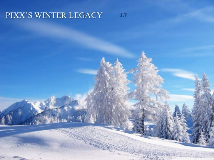 PIXX'S WINTER LEGACY   1.7