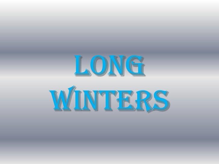 Longwinters<br />