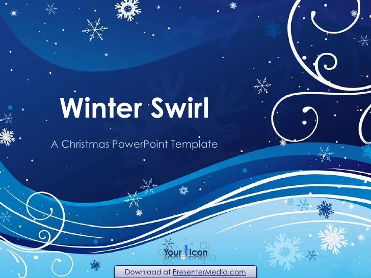Winter Swirl<br />A Christmas PowerPoint Template<br />