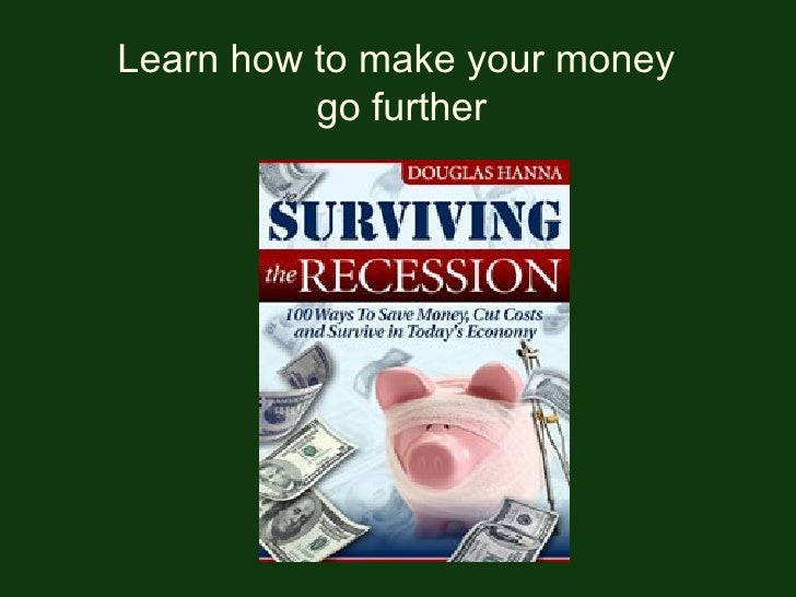 Learn how to make your money  go further