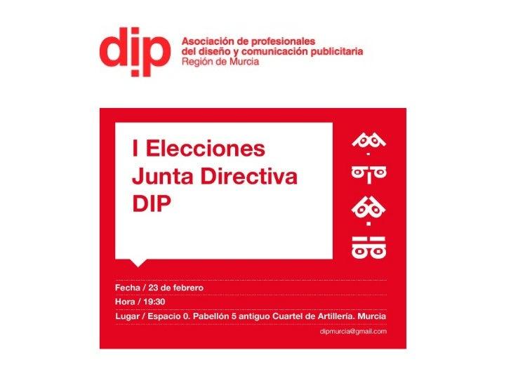 Presentando Candidatura WiP DiP en Asamblea