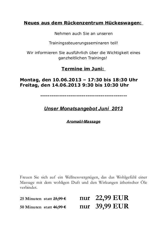 Neues aus dem Rückenzentrum Hückeswagen:Nehmen auch Sie an unserenTrainingssteuerungsseminaren teil!Wir informieren Sie au...