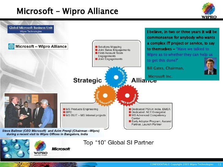 """case study of wipro objectives Case studies, and funders interested in the topic"""" - paul light  social purpose  and involves building organizations that have the capacity."""