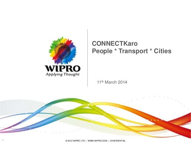 Wipro - Transport Initiatives