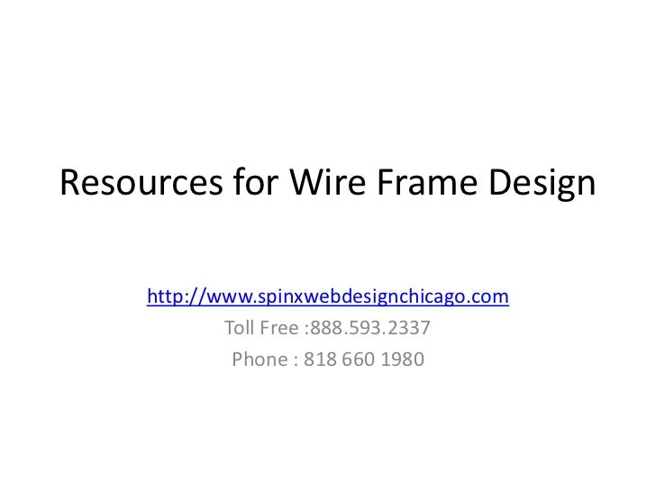 Wireframde design