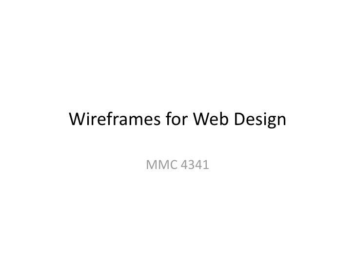 WireframesforWebDesign         MMC4341