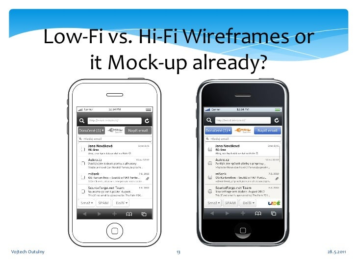 Wireframe Vs Mock up Why And When