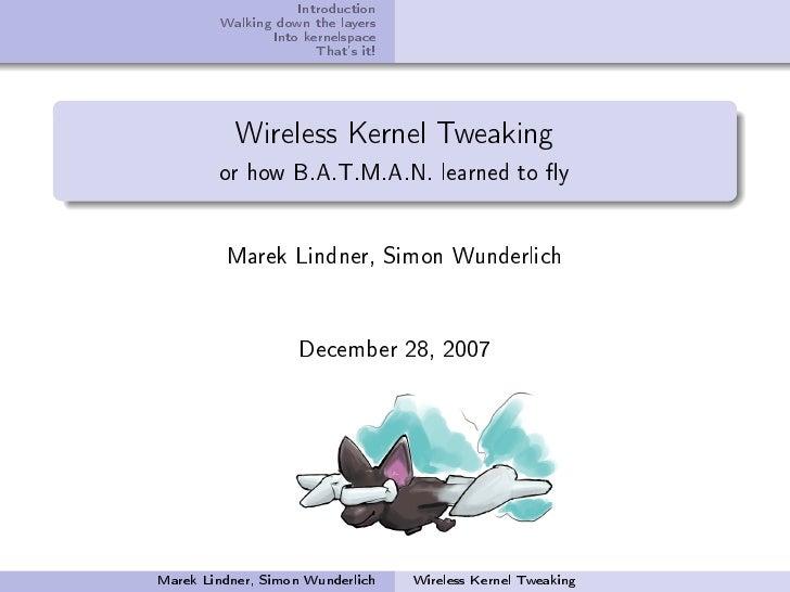 Wireless Hacking Talk